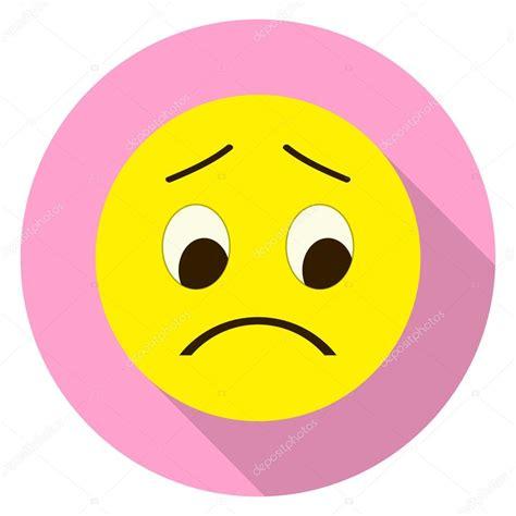 imagenes sad face cara de emoticon triste emoji triste ilustraci 243 n de