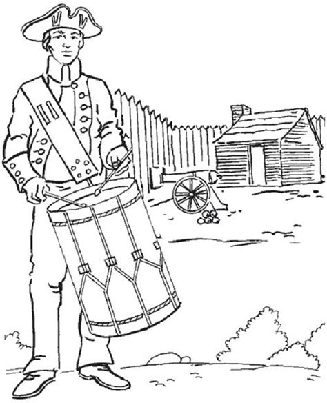 american revolution coloring pages american revolution