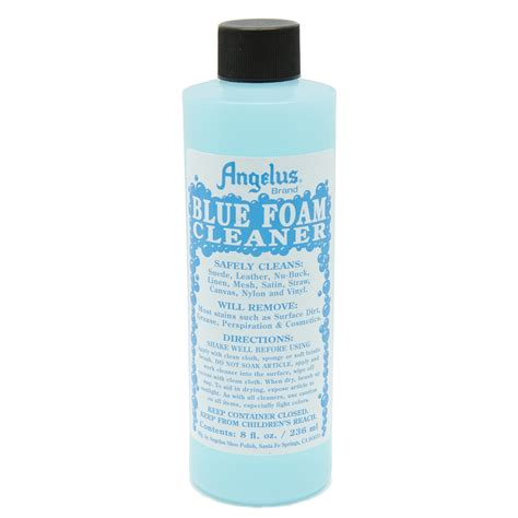 Angelus Leather Tester angelus blue foam cleaner angelus sneaker cleaner shoe cleaner