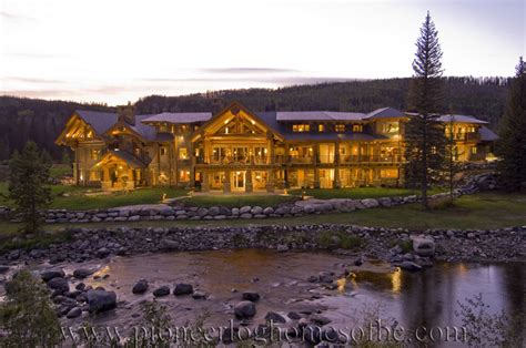 Floor Plans For Log Homes by Log Post And Beam Home Plans And Designs Pioneer Log