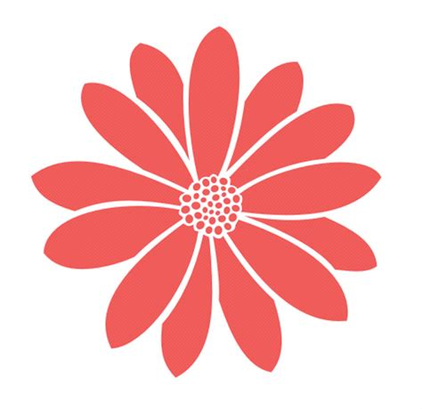 16 inch wall stencil daisy flower pattern by woodencreatives