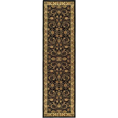 6 foot runner rug safavieh lyndhurst black ivory 2 ft 3 in x 6 ft runner lnh219a 26 the home depot