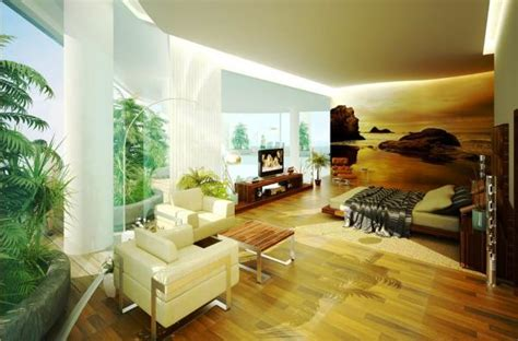tropical rooms make a splash with tropical interior design