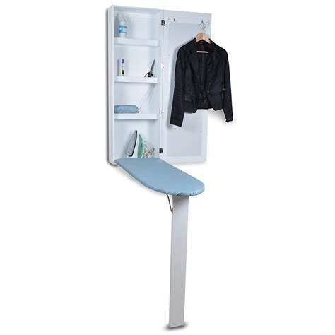 portable ironing board cabinet wall mount folding ironing board portable storage cabinet