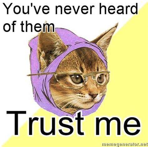 Hipster Cat Meme - image hipster glasses memes