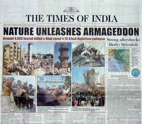 earthquake news india special report april 17 2001 earthquake coverage by