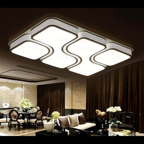 Different Ceiling Lights Led Integrated Lighting Unique Rectangle Flush Mount Ceiling Lights