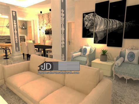 harga desain interior ruang tamu jasa desain rumah eropa klasik bapak tommy di depok jasa