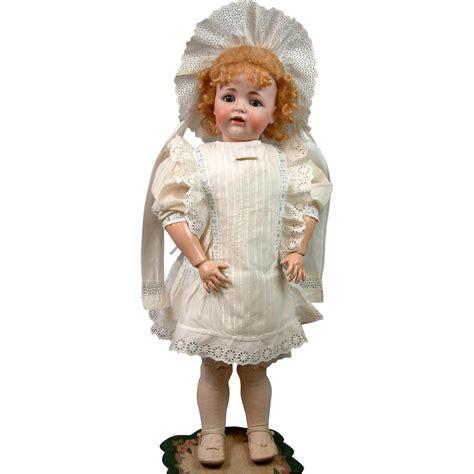 bisque doll world wonderful antique dress bonnet for big antique bisque