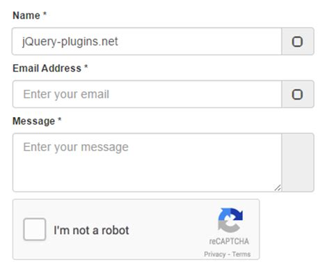 bootstrap tutorial with jquery bootstrap contact form with google s recaptcha jquery