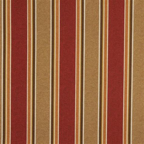 outdoor upholstery brown beige orange and red striped indoor outdoor