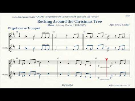 rocking around the christmas tree movies rockin around the tree flugelhorn or trumpet