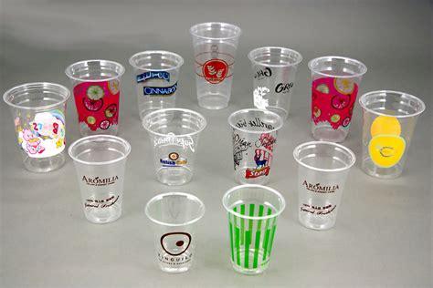 sablon gelas plastik murah berkualitas juni
