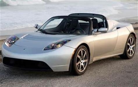 Tesla Roadster Convertible 2009 Tesla Roadster Overview Cargurus