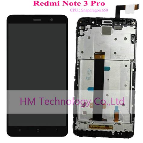 black white gold lcd tp frame for xiaomi redmi note3 pro note 3 pro snapdragon 650 lcd display