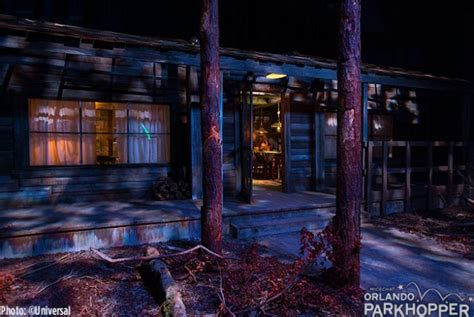 Elevator Cabin In The Woods by A Sneak Peek At Horror Nights Universal Orlando
