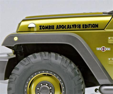 jeep wrangler zombie apocalypse edition toyota zombie edition truck autos post