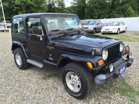 hayes car manuals 2001 jeep wrangler user handbook sell used no reserve nr 2001 jeep wrangler 4x4 good tires 5 speed manual in hton new jersey