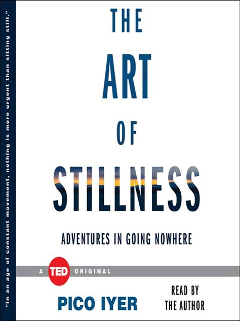 Pdf Stillness Adventures Going Nowhere by The Of Stillness Adventures In Going Nowhere