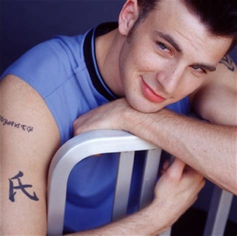 chris evans tattoo chris