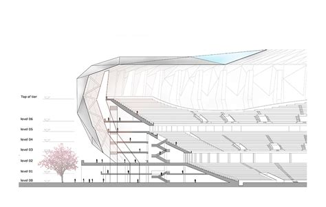 sketchbook layout japan national olympic stadium competition jakupa