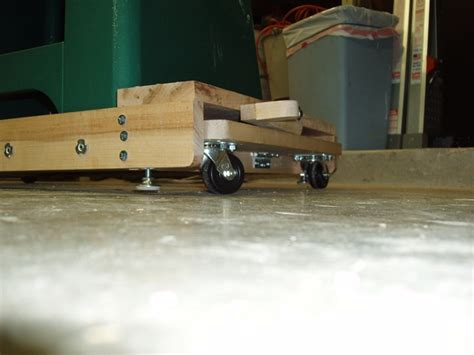 Table Saw Wheels by Table Saw Mobile Base Build Plans Free