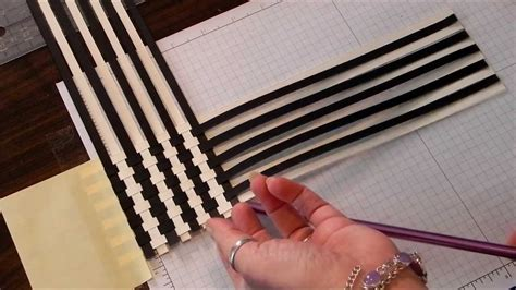 How To Make A Paper Weave - paper weave scrapbook technique