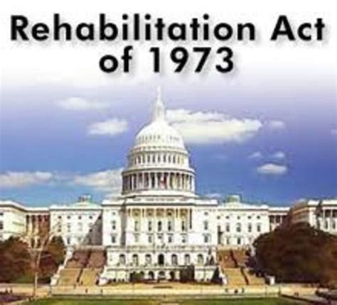 section 504 rehabilitation act of 1973 special education legislation and due process timeline