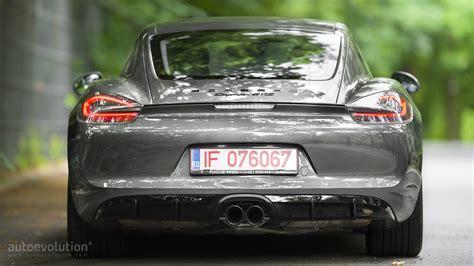 porsche cayman 2015 grey 2015 porsche cayman gts review autoevolution