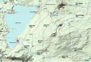 waldo lake oregon map cross lake creek images