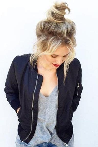 messy bun procedure 17 best images about hairstyles 2017 on pinterest easy