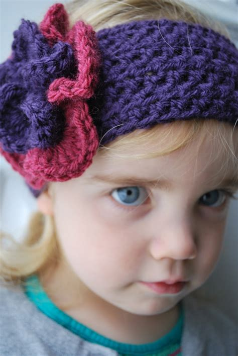 free crochet pattern flowers headbands crochet flower patterns for headbands my crochet