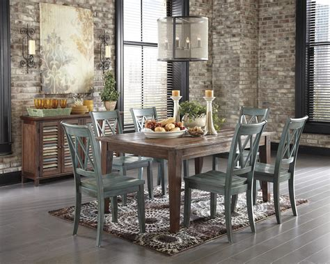 Antique Green Dining Room Antique Blue Green Dining Room Side Chair By Signature