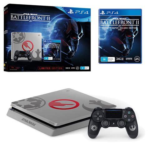 playstation 4 console bundle playstation 4 slim 1tb wars battlefront 2 limited