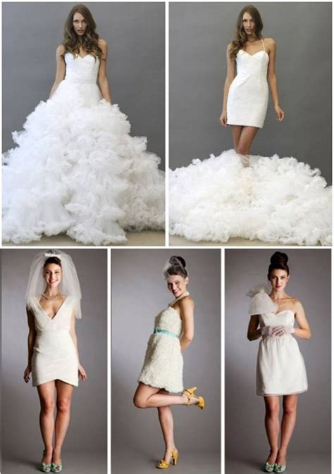 Chagne Wedding Dress by Tuesday Trends The Wedding Dress Change