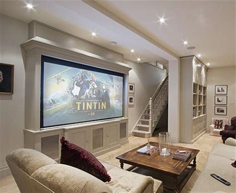 projector or tv for media room 17 best ideas about projection screen on