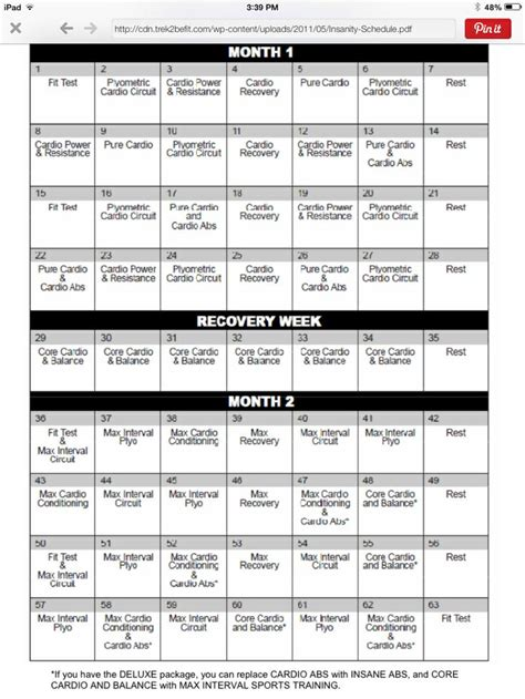 60 Day Calendar Insanity 60 Day Calendar New Calendar Template Site