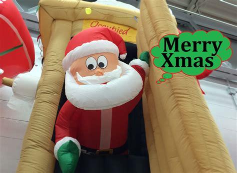 walmart up decorations walmart inflatables animated airblown santa