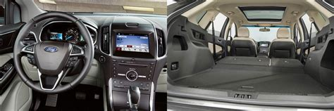 Interior Noise Levels Of Cars by 2016 Ford Edge New Car Review On Drivechicago