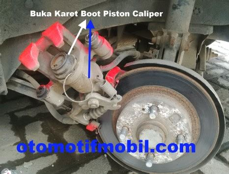 Seal Piston Cakram rem cakram lengket pada roda belakang mobil mazda interplay 323