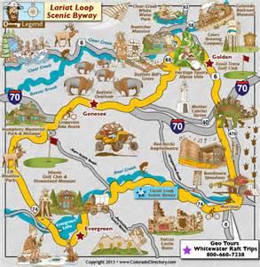 colorado scenic byways map lariat loop scenic byway map colorado vacation directory