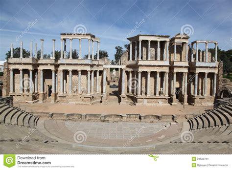 Plan Merida by Theatre Merida Spain Stock Image Image 21588761