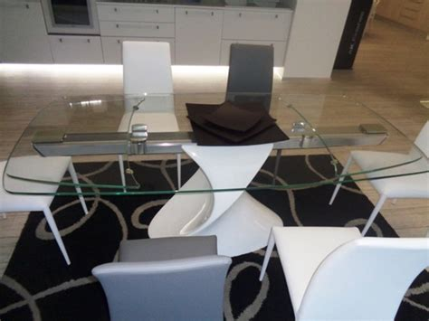 tavoli tonin tonin casa tavolo tavolo shangai tonin casa vetroresina