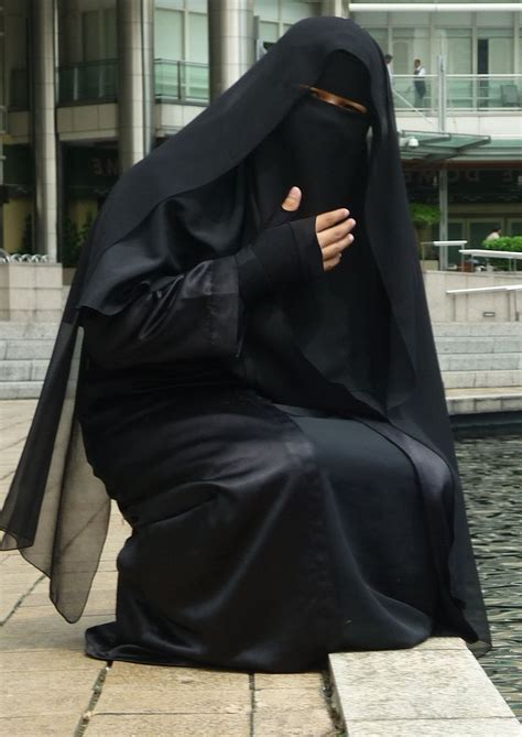 beautiful women islamic clothing abaya hijab open black abaya and ni8qaab hijab and niqab pinterest