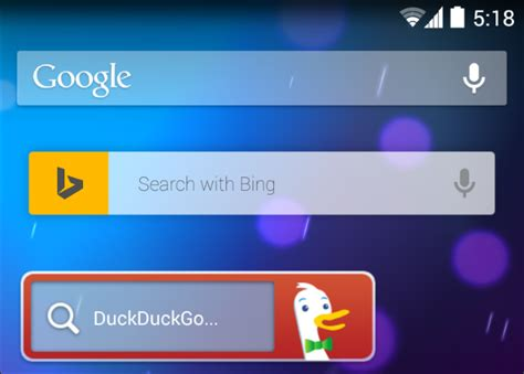 android search bar how to change the default search engine on your phone or tablet