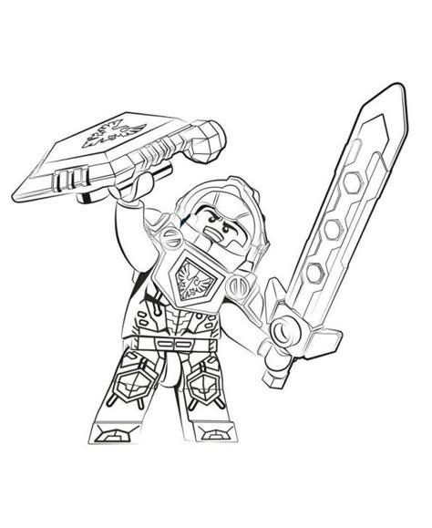 nexo knights coloring pages aaron lego nexo knights para colorear e imprimir