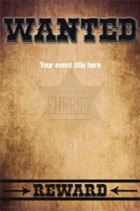 Wanted Poster Templates Postermywall Most Wanted Poster Template