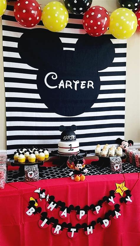 mickey mouse clubhouse birthday backdrop   kid