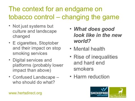 control and eradication disease control priorities in priorities for tobacco control england public health