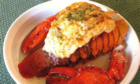 lobster tail with claws preparation seasoning and cooking poormansgourmet youtube
